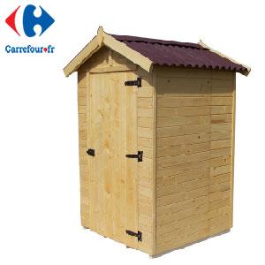 cabane de jardin carrefour