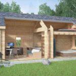 Cabane de jardin habitable