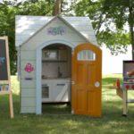 Cabane de jardin pour fille