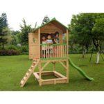 Cabane de jardin sur pilotis