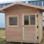 Cabane en bois pour jardin