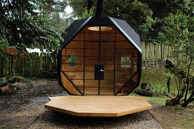 cabane jardin design