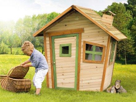 cabane jardin pour enfant