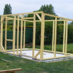 Construction d une cabane de jardin