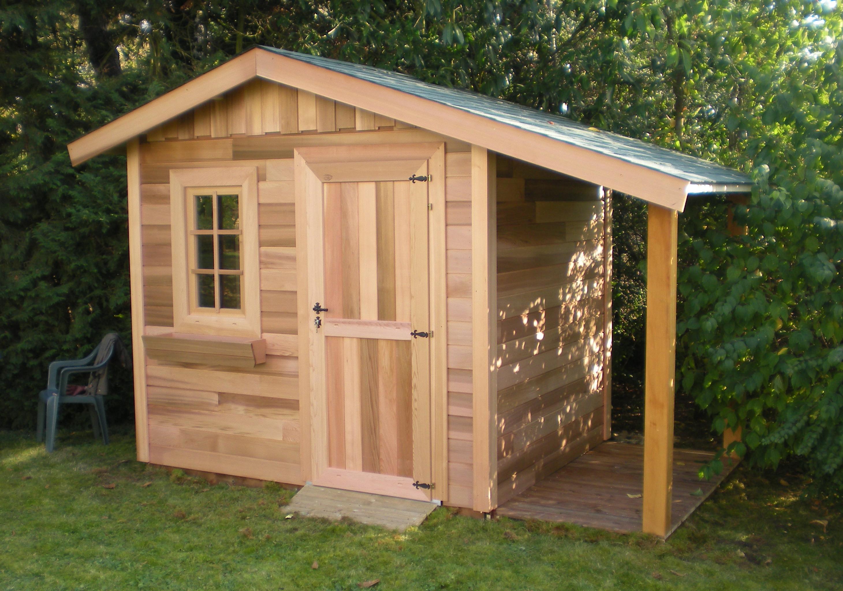 fabrication cabane de jardin
