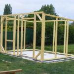 Fabriquer cabane de jardin