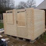 Montage cabane de jardin