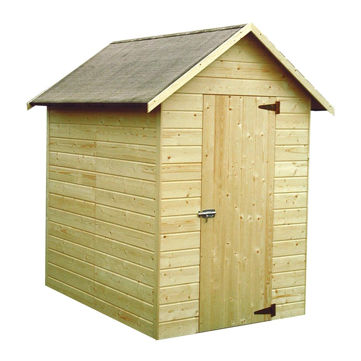 Petite cabane de jardin en bois pas cher for Cabane de jardin 5m2