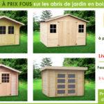 Promo cabane de jardin